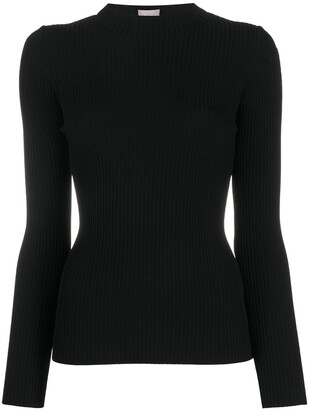 Mrz Ribbed Cut-Out Top