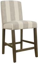 HomePop Curved Back Counter Stool