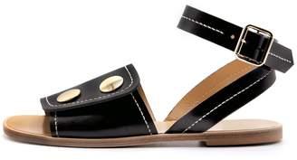 Lou.Earl Pierrette Ankle Strap Sandals In Noir