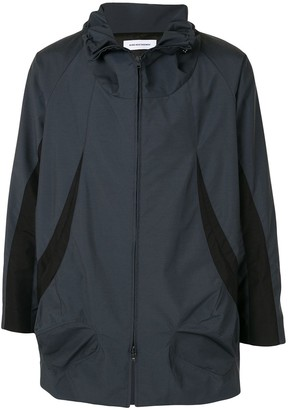 KIKO KOSTADINOV Panelled Mid-Length Windbreaker