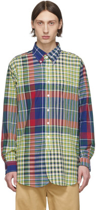 Engineered Garments Multicolor Madras Check Shirt