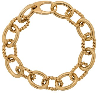 Isabel Lennse Twisted Chunky Chain Bracelet