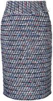 Coohem high waisted tweed skirt