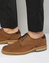 Ted Baker Prycce Suede Brogue Shoes