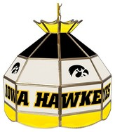 NCAA University of Iowa Stained Glass Tiffany Lamp - 16 Inch