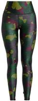 Terez Green Camo High-Rise Leggings