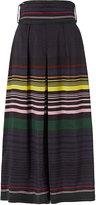 Apiece Apart Tie Waist Striped Culotte Pant