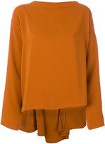 MM6 MAISON MARGIELA high low blouse