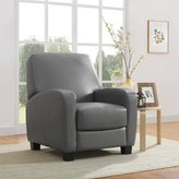 Recliner with Stylish Transitional Design (Grey)