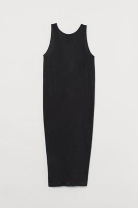 H&M Linen Dress - Black