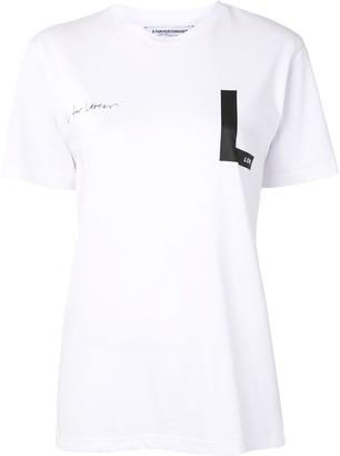 Eenk L for Letter T-shirt