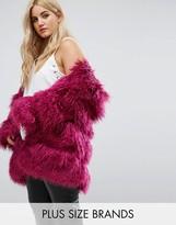 Alice & You Coat In Snuggle Faux Fur