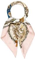 Hermes Napoleon Silk Jacquard Scarf