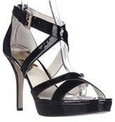 MICHAEL Michael Kors Evie Platform Evening Sandals, Black.