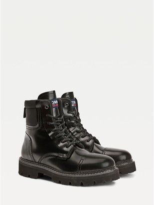 Tommy Hilfiger Pop Color Leather Boot