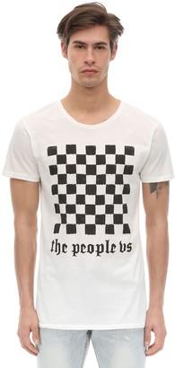 Victoria's Secret The People Motor Sport Cotton Jersey T-shirt