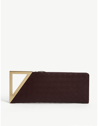 Bottega Veneta Rim leather clutch