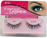 Ardell Fashion Lashes 100% Human Hair BLACK (Item:104)