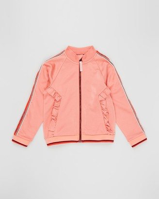 Scotch R'Belle Mercerised Ruffle Track Jacket - Teens