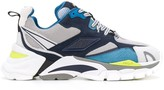Ash high top contrasting-panel sneakers