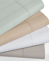 Hotel Collection 600 Thread Count Striped Queen Flat Sheet