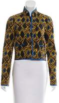 Balenciaga Printed Button-Up Jacket