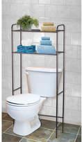 "Home Basics 23"" W x 54"" H Over the Toilet Storage"