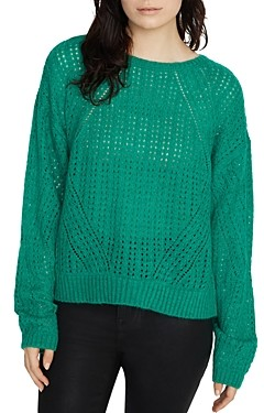 Sanctuary Hole in One Open-Knit Sweater