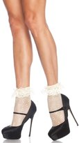 Leg Avenue Women's Daisy Dot Anklet Socks