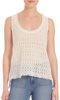 Paige Lindsay Knitted Lace Tank