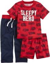 Carter's Baby Boy 3-pc. Print Pajama Set