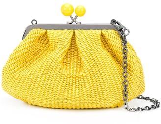 Max Mara Woven Clutch Bag