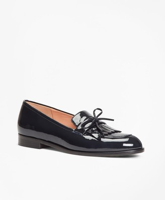 Brooks Brothers Patent Leather Kiltie Loafers