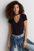 American Eagle Outfitters AE Soft & Sexy Ribbed Bodysuit