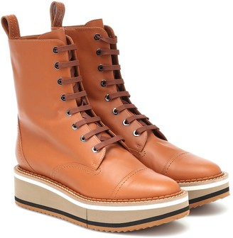 Clergerie British leather boots