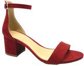 Wild Diva Wine Larina Ankle-Strap Sandal