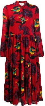 La DoubleJ Boho printed dress