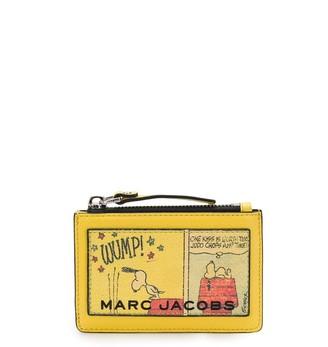 Marc Jacobs Peanuts top zip multi wallet