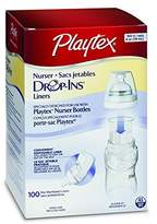 Playtex Disposable Liners, Pre-Sterilized, 4 oz 100 ct (Pack of 3)