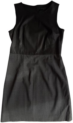 Theory Anthracite Wool Dress for Women