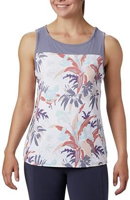 Columbia Chill Rivertm Tank Top (Nocturnal/Magnolia Print) Women's Sleeveless