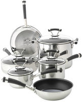 Circulon 10-pc. Stainless Steel Cookware Set + BONUS