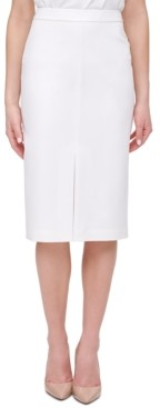 Tommy Hilfiger Front-Slit Pencil Skirt