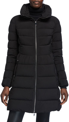 Moncler Nevalon Semi-Fit Puffer Coat