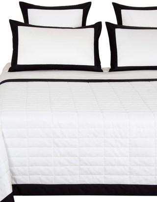 Frette Rectangular 300 Thread Count Cotton Sateen Quilt