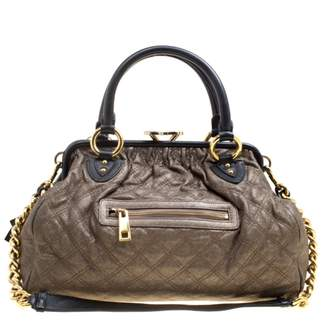Marc Jacobs Stam Metallic Leather Handbags