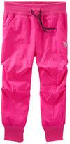 Osh Kosh Jersey-Lined Neon Track Pants