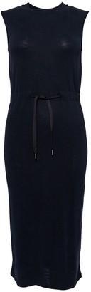 Superdry Jersey Sleeveless Midi Dress with Tie-Waist