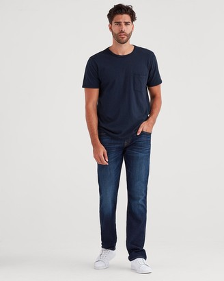7 For All Mankind Airweft Denim The Straight in Commotion