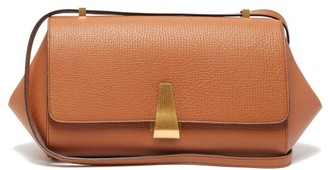 Bottega Veneta Angle Grained-leather Shoulder Bag - Womens - Tan